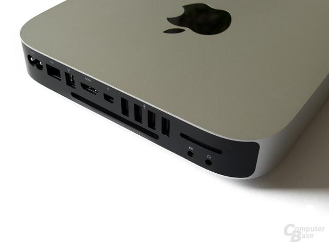 Apple Mac Mini: Schnittstellen auf der Rückseite