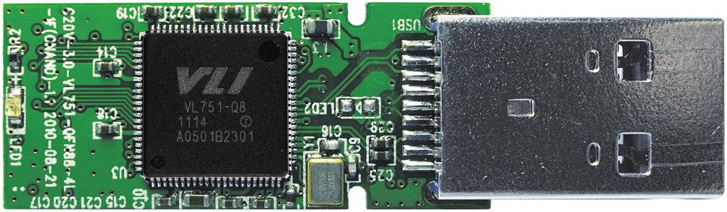 VLI VL751 auf PCB