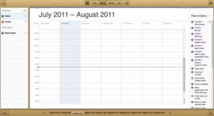 iCloud: Kalenderanwendung