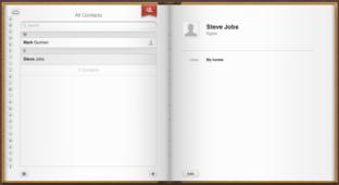 iCloud: Kontakte