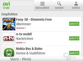 Symbian Anna: Ovi Store