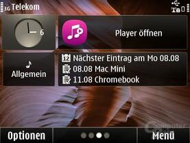 Symbian Anna: Homescreen