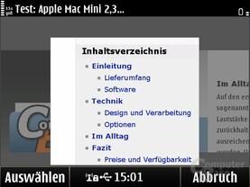 Symbian Anna: Neuer Browser