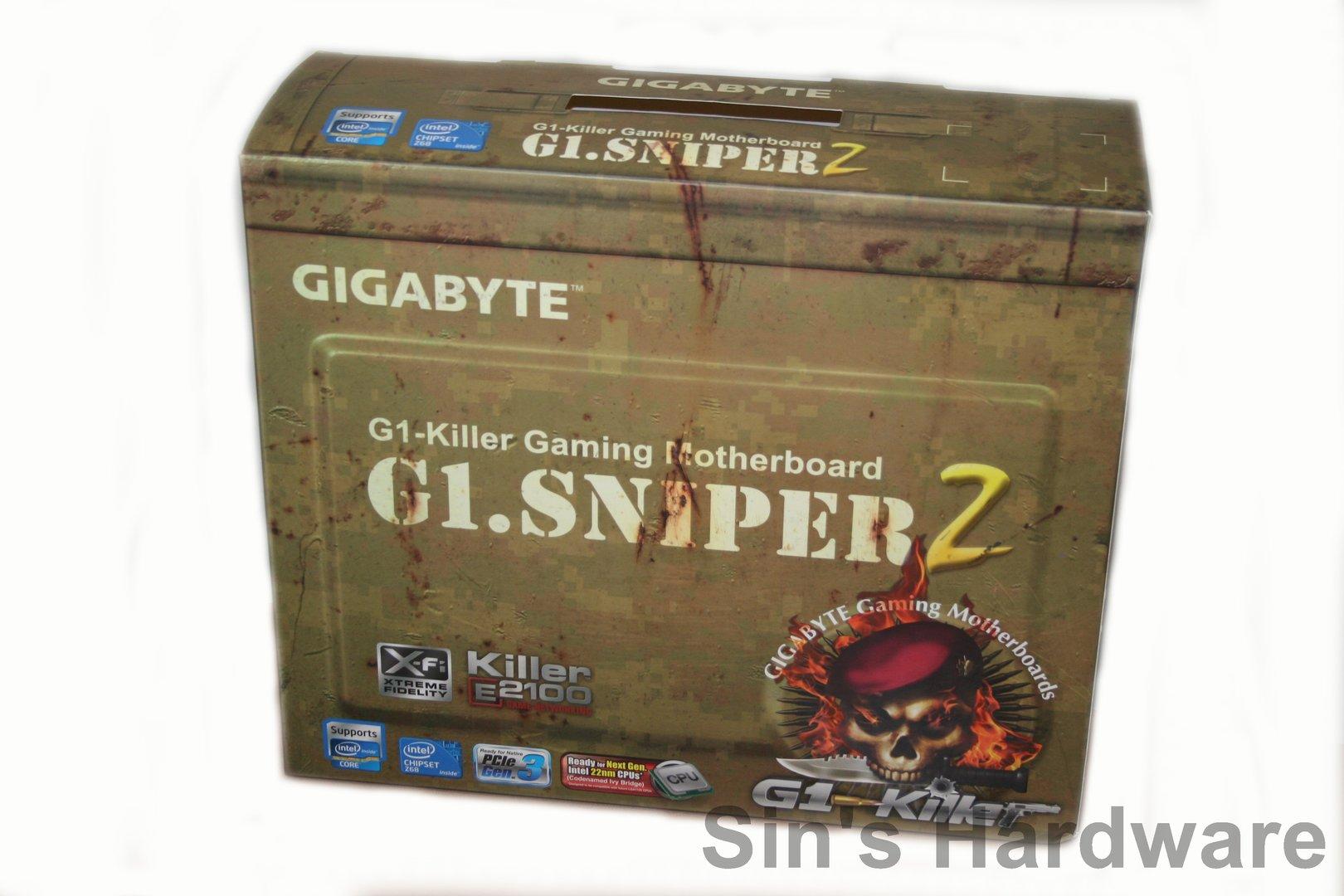 """Gigabyte """"G1.Sniper2"""" (Z68)"""