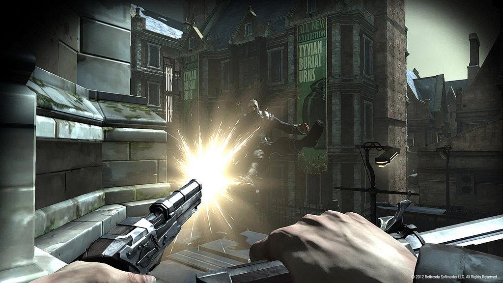 Pistol Shot Over Rooftops