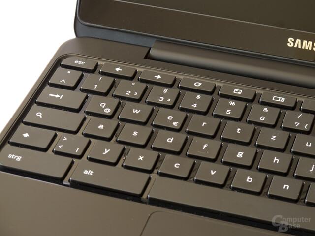 Tastatur mit vom Standard abweichenden Tasten