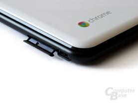 Samsung XE500C21: Vor Verschmutzung geschützter SIM-Slot