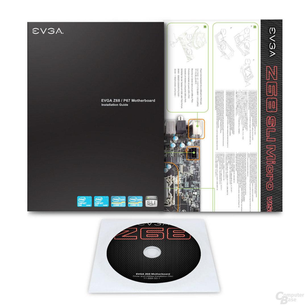 EVGA Z68 SLI Micro