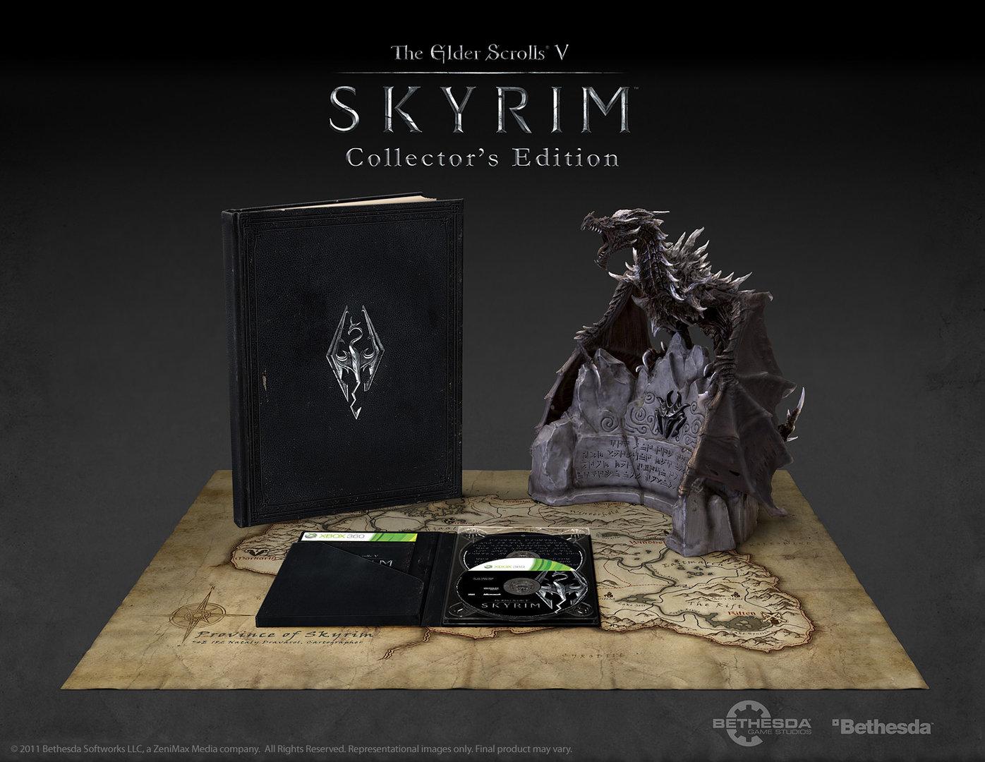 TES V: Skyrim Collector's Edition (Xbox 360)