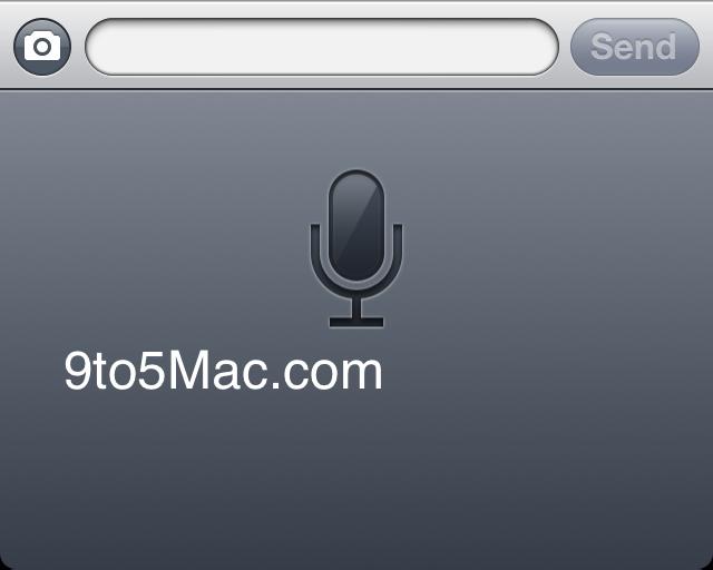 iOS 5: Spracherkennung | Quelle: 9to5mac.com