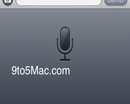iOS 5: Spracherkennung   Quelle: 9to5mac.com