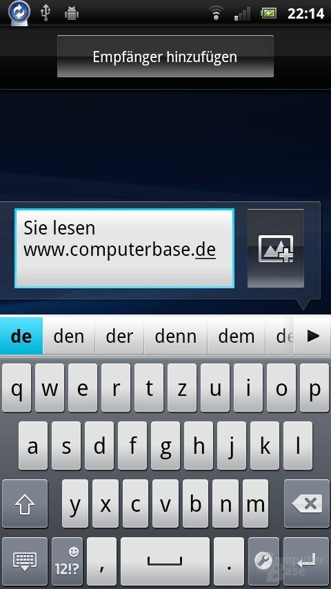 Xperia Neo SMS