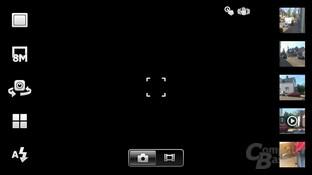 Xperia Neo Kamera-Interface