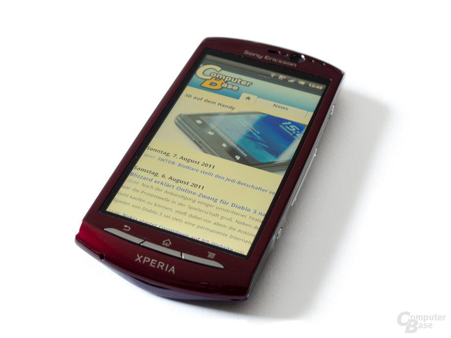 """Sony Ericsson Xperia Neo: """"Klein"""" aber fein in Sachen Leistung"""
