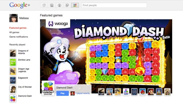 Google+-Spiele