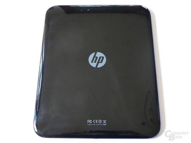Klavierlack-Rückseite des HP TouchPad