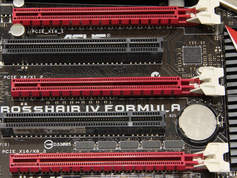 PCIe x16 auf dem Mainboard