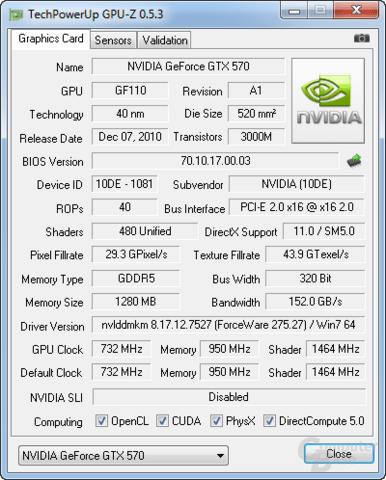 PCIe x16 bei GPU-Z