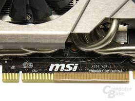 Grafikkarte abgeklebt auf PCIe x4
