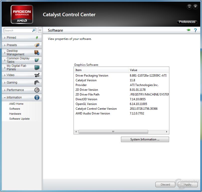 AMD Catalyst 11.8 WHQL
