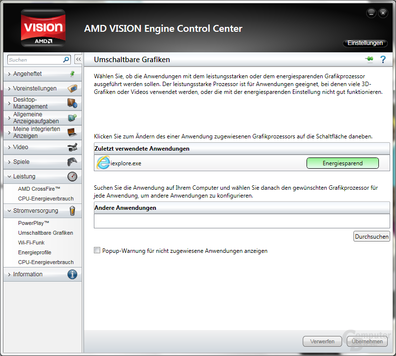 AMD Control Center