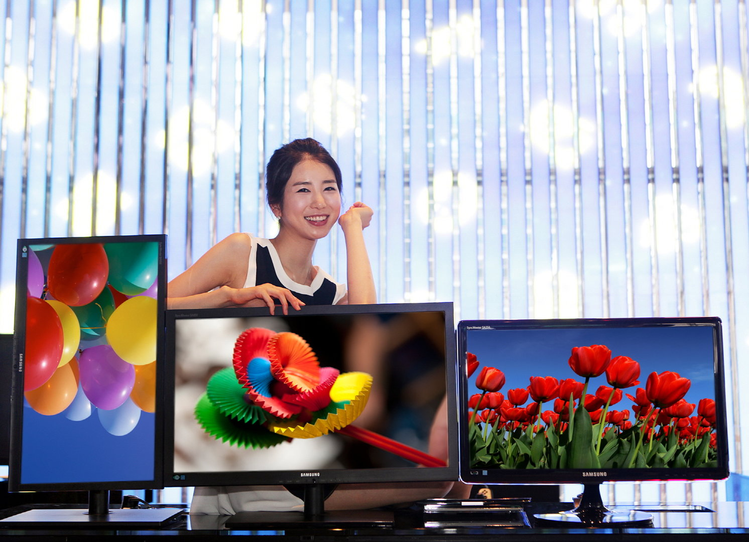 Samsung-LCDs mit PLS-Panel