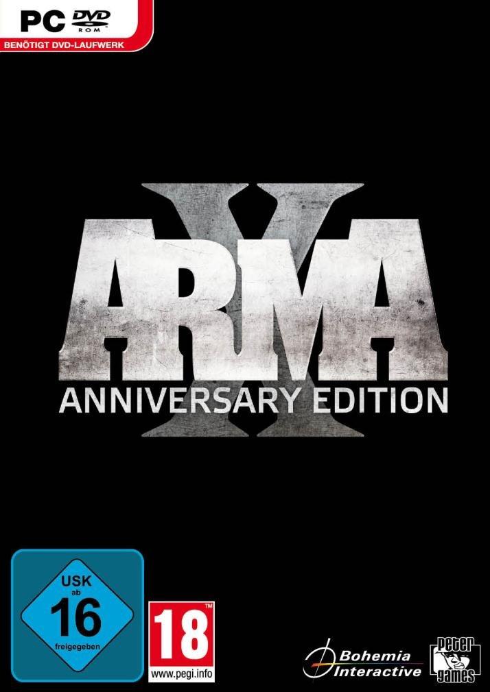 ARMA X - Packshot