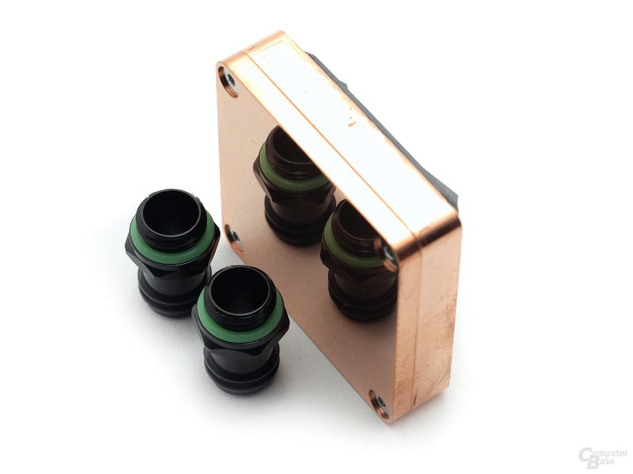 Enzotech Water Block Stealth Full Copper