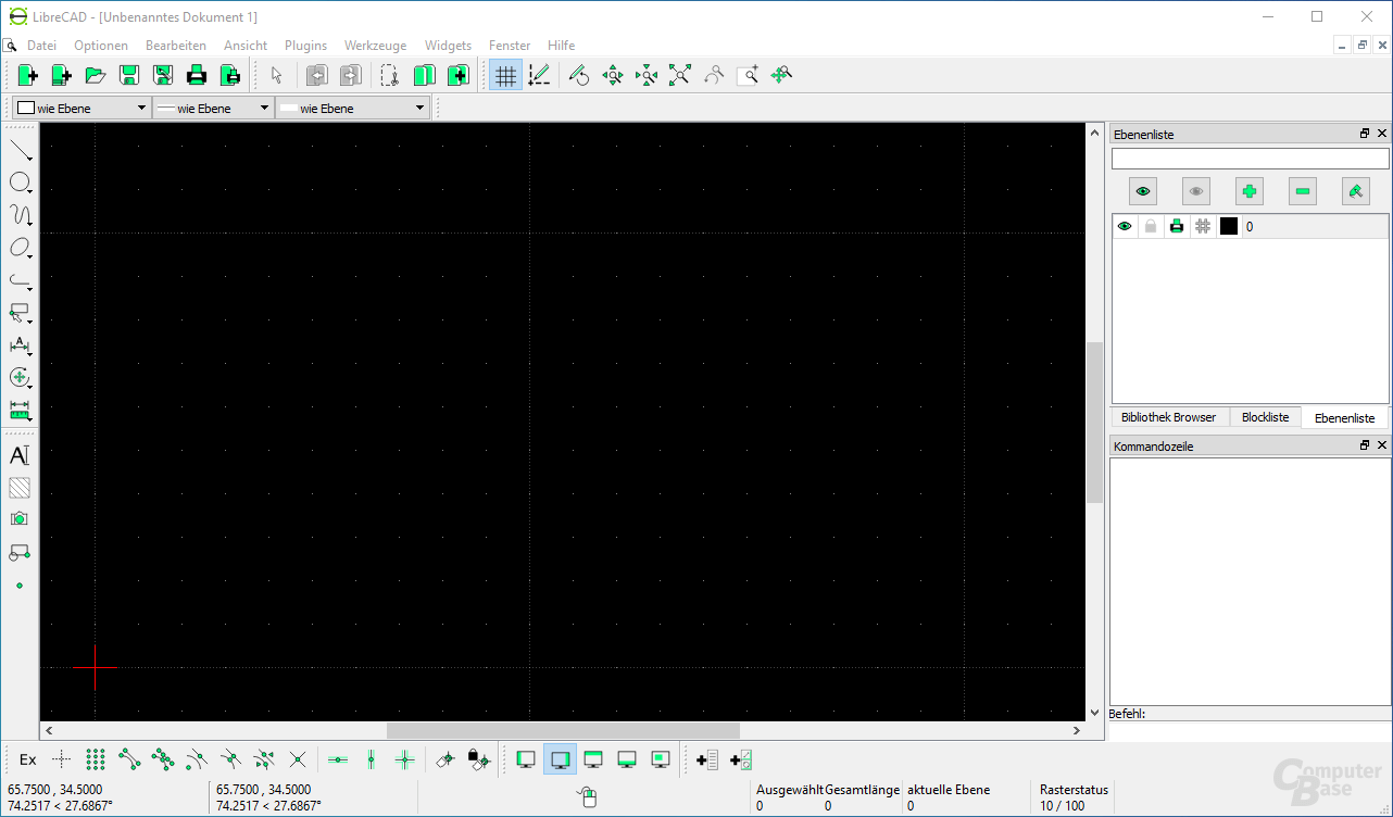 LibreCAD – Open Source personal CAD application