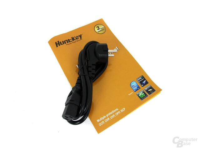 Huntkey Jumper 300G P3D – Lieferumfang