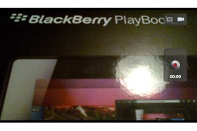 Screenshot BlackBerry Playbook