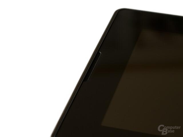 BlackBerry Playbook: Fein säuberlich verarbeitet, auch an den Öffnungen