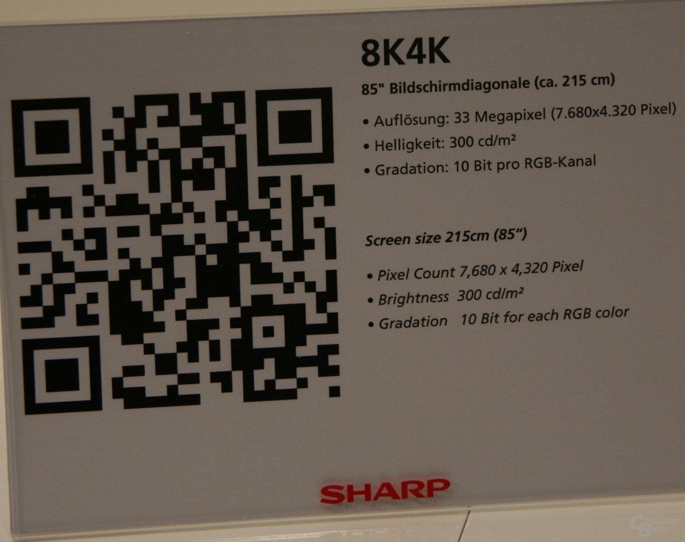 Sharp 8K4K Super Hi-Vision