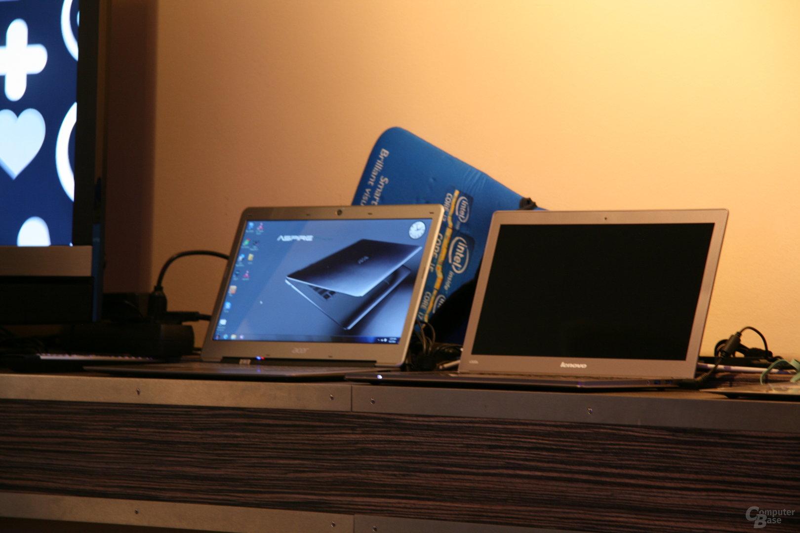 Ultrabooks von Acer und Lenovo