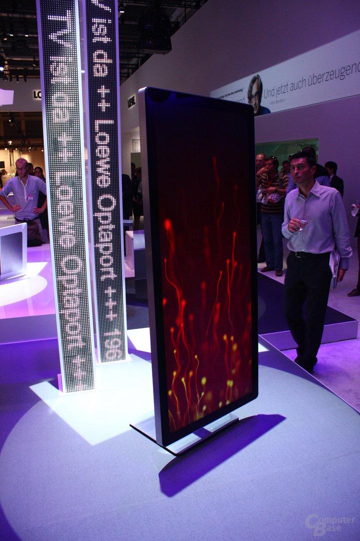Die Zukunft des Fernsehers nach Ansicht von Loewe