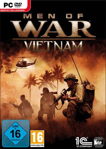 Men of War - Vietnam Deutsche  Texte, Untertitel, Menüs, Videos, Stimmen / Sprachausgabe Cover