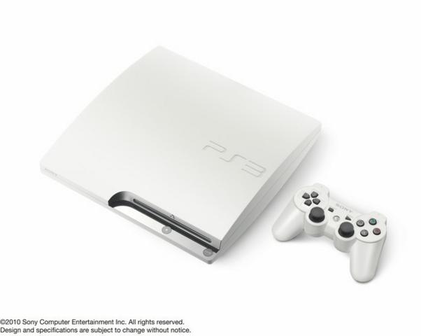 PS3 Slim Classic White