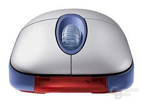 Microsoft Optical Mouse Blue