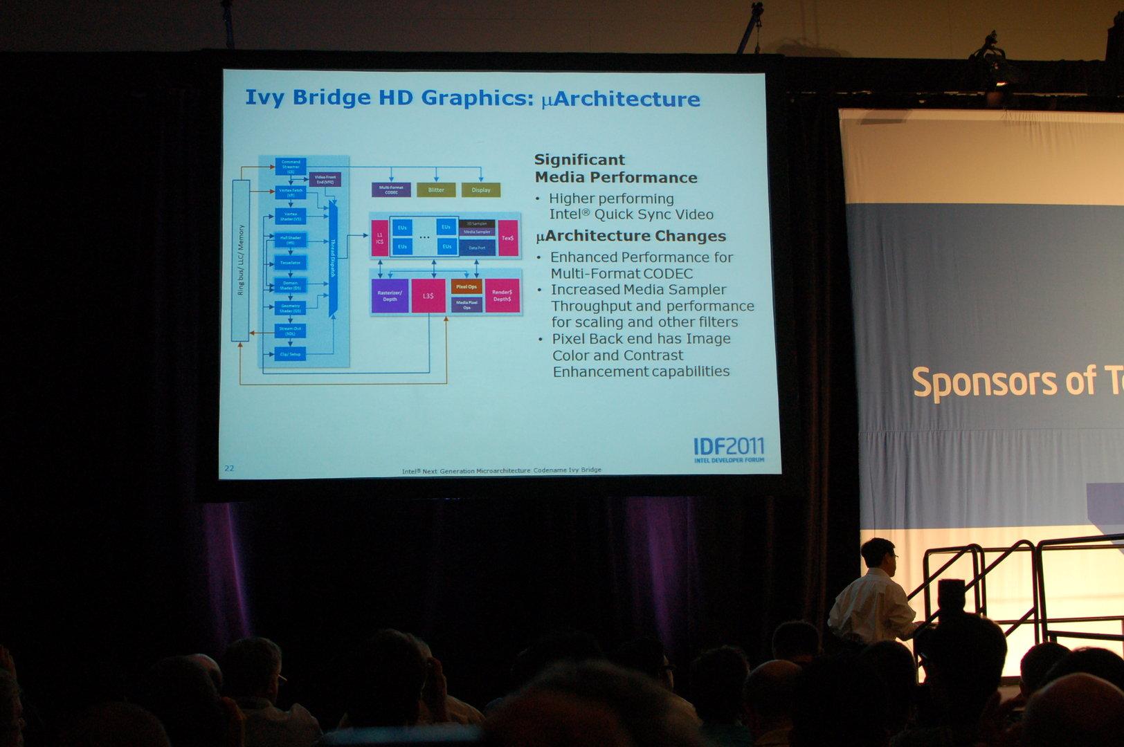 Details zur Ivy-Bridge-Grafik auf dem IDF 2011