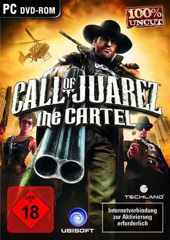 """Call of Juarez: The Cartel"" Packshot"