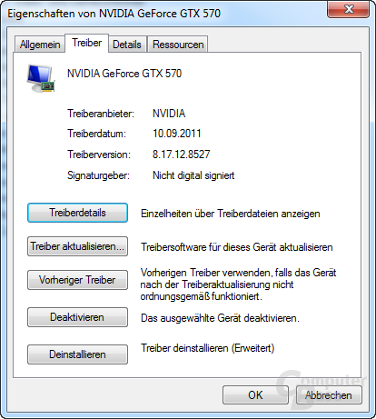Nvidia GeForce 285.27