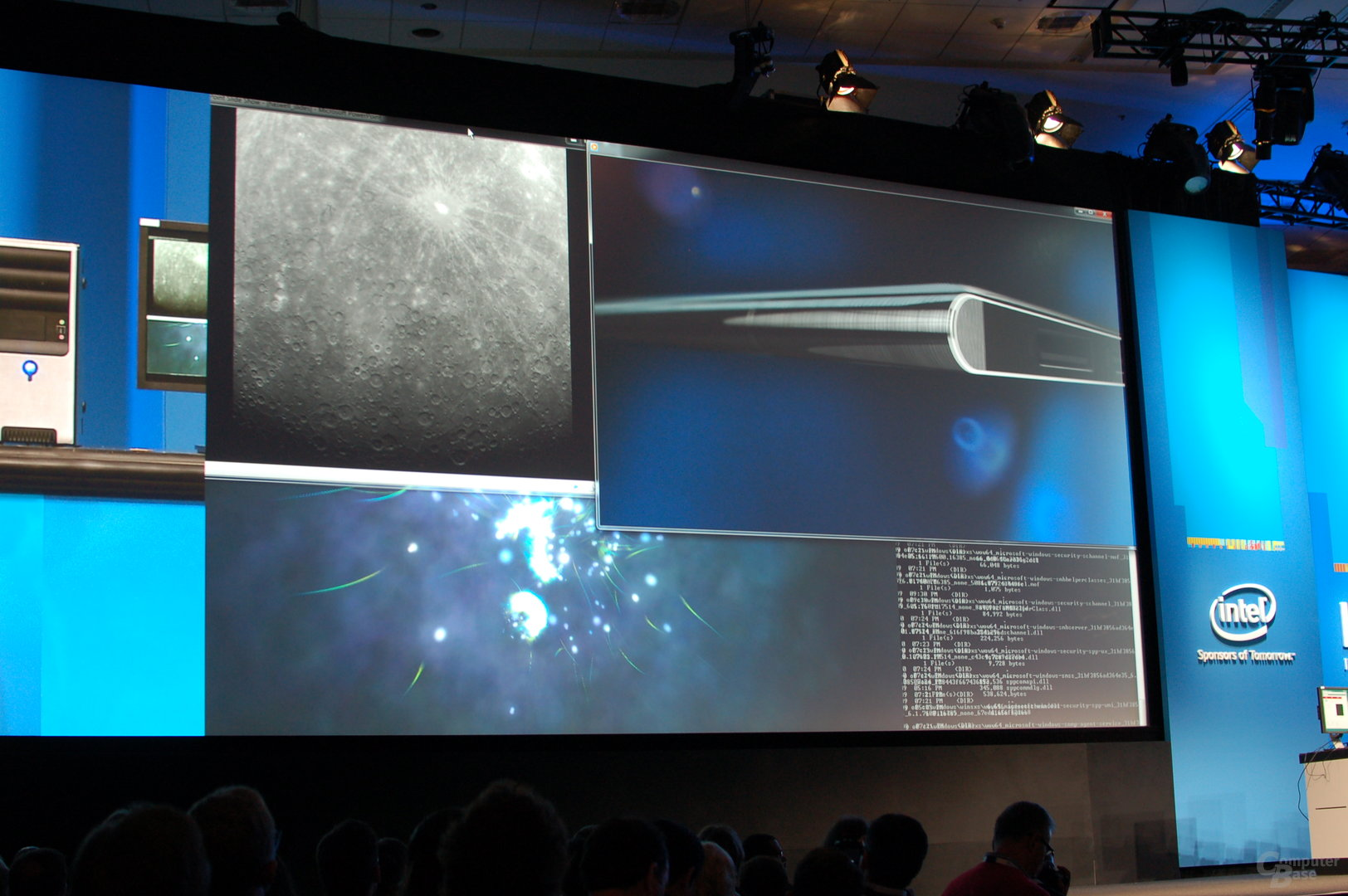 Intel Haswell Live-Demo IDF 2011