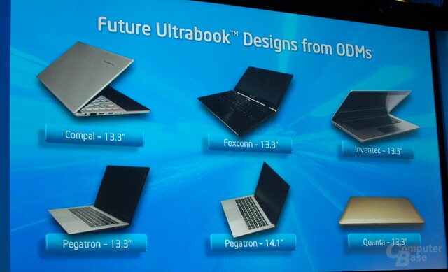Ultrabooks mit Ivy Bridge