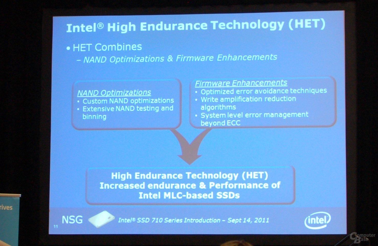 Intel High Endurance Technology