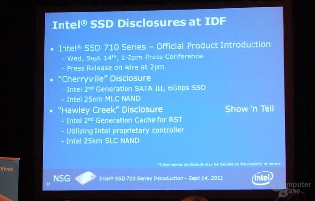 Intel SSD 520 und 31x Series