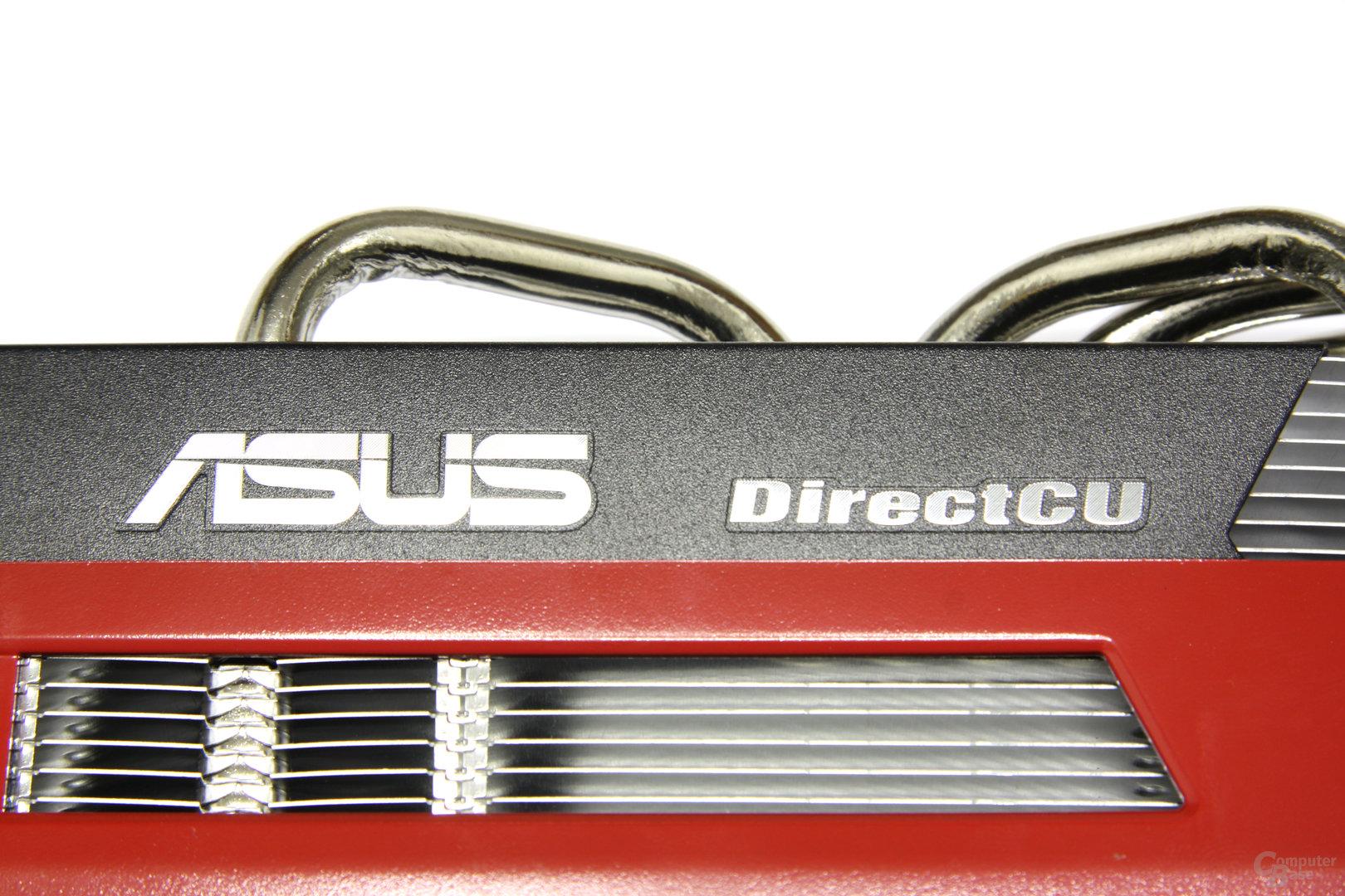 Radeon HD 6770 DirectCU Silent Schriftzug