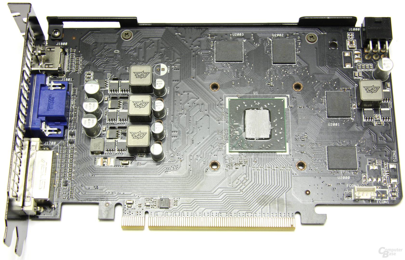 Radeon HD 6770 DirectCU Silent ohne Kühler