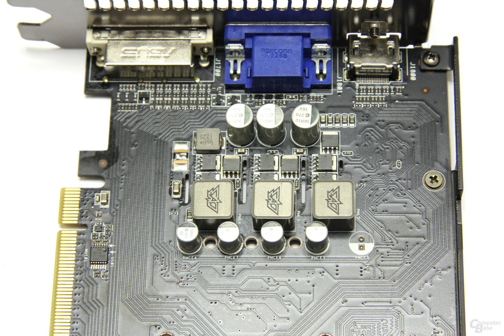 Radeon HD 6770 DirectCU Silent Bauteile
