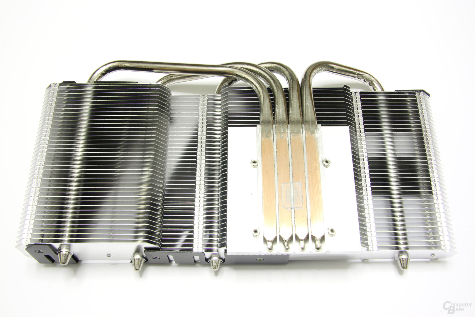 Radeon HD 6770 DirectCU Silent Kühlerrückseite