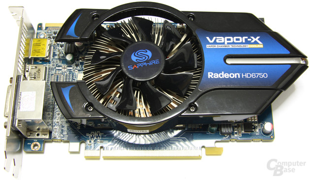 Sapphire Radeon HD 6750 Vapor-X